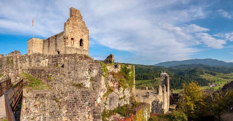 Ruinas del castillo de Hochburg. Der LicjtKlicker (Flickr)