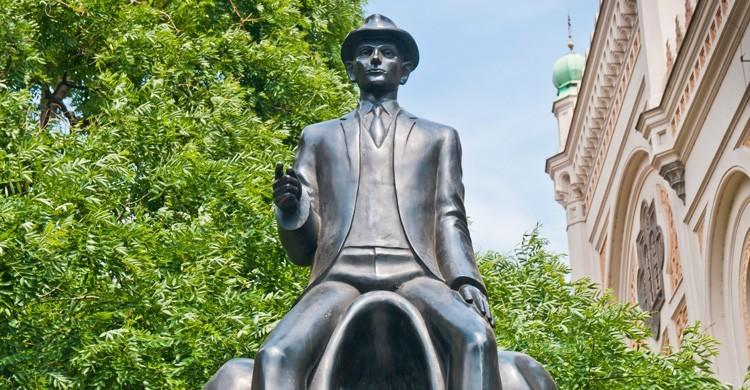 Monumento dedicado a Franz Kafka (iStock)