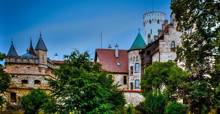 Castillo de Lichtenstein. Polybert49 (Flickr)