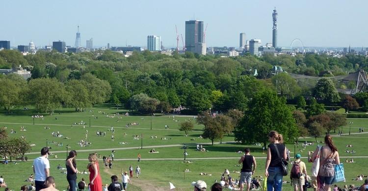 Vistas desde Primrose Hill. Nathan (Flickr)