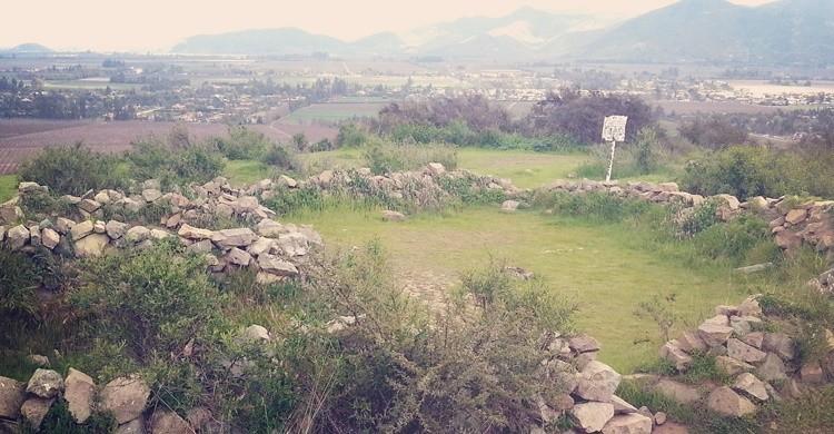 Ruinas incaicas de Pucará de Chena, a las afueras de Santiago. Miguel Vera León (Flickr)