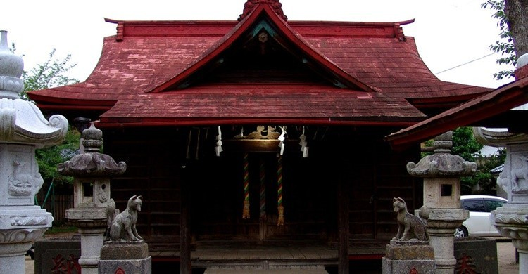 Típica vivienda de Sawara. Angie Harms (Flickr).