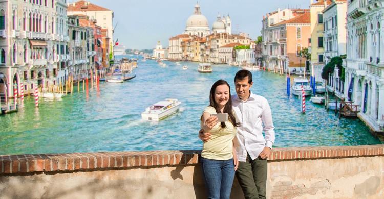 Selfie en Venecia (iStock)