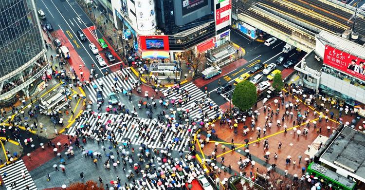 Cruce de Shibuya (iStock)