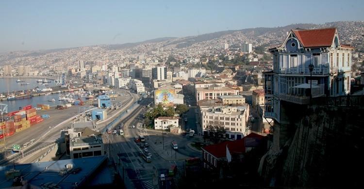 Vista parcial de Valparaíso. Rolando Vejar (Flickr)