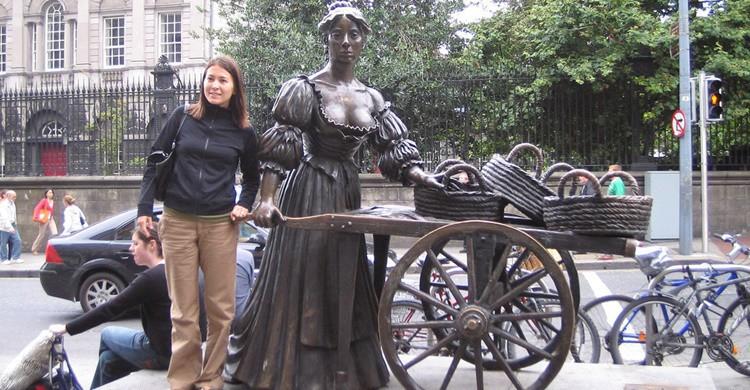 Estatua de Molly Malone. William Murphy (Flickr)