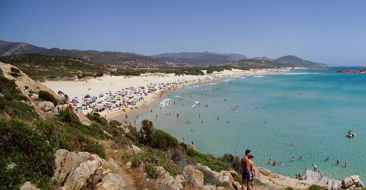Playa en Cerdeña. Cristiano Cani (Flickr)