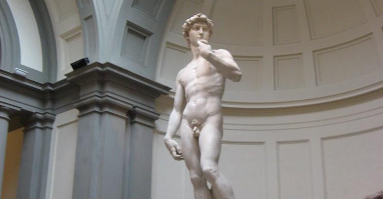 David de Miguel Ángel, una de las obras más importantes que se pueden ver en Florencia. Gonzopowers (Flickr).