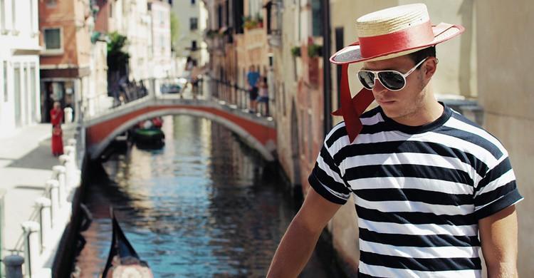 Gondolero de Venecia. José Manuel Ríos Valiente (Flickr)