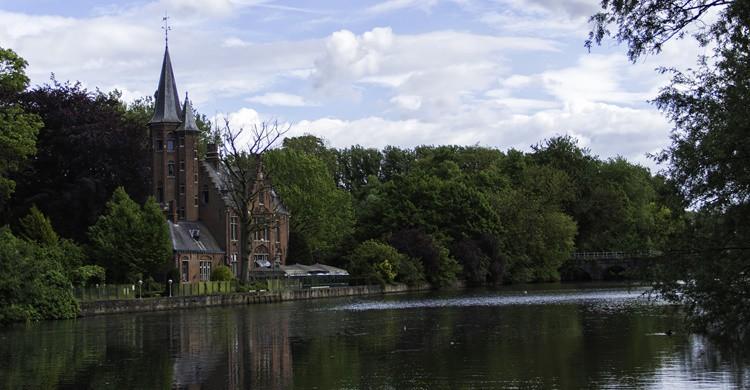 Lago del Amor o Minnewaterpark en Brujas. Giovani Racca (Flickr)