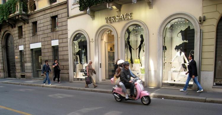 Tienda de Versace en Milán. Jaime de la Fuente (Flickr)