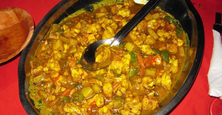 Chivo al curry (Flickr).