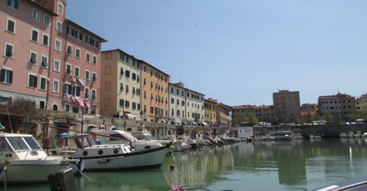 Imagen de uno de los canales en Livorno. WildRedHed (Flickr)