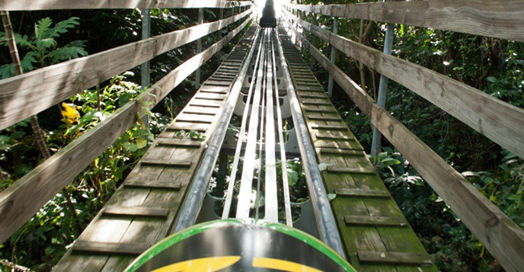 El bobsleigh jamaicano. Chris Short (Flickr)