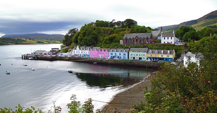 Puerto de Portree. Paul Lucas (Flickr)