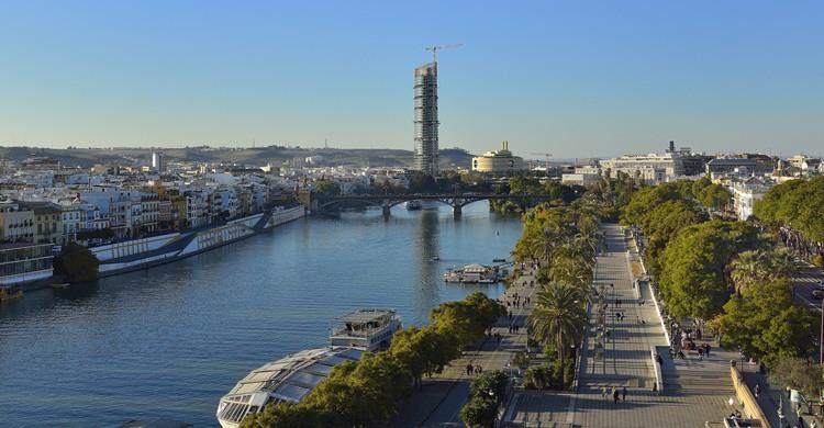 Río Guadalquivir. Carlos Jiménez Ruiz (Flickr)