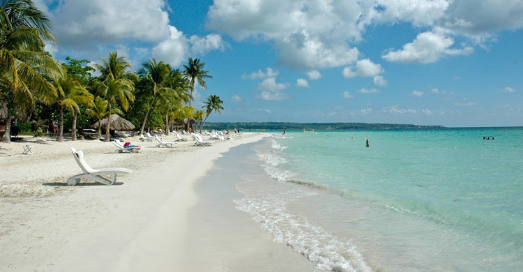 Playa en Jamaica. Michael McCarthy(Flickr)