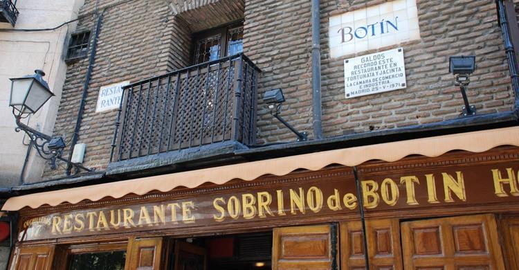 Casa Botín, el que dicen que es el restaurante más antiguo del mundo. Erin Borrini (Flickr)