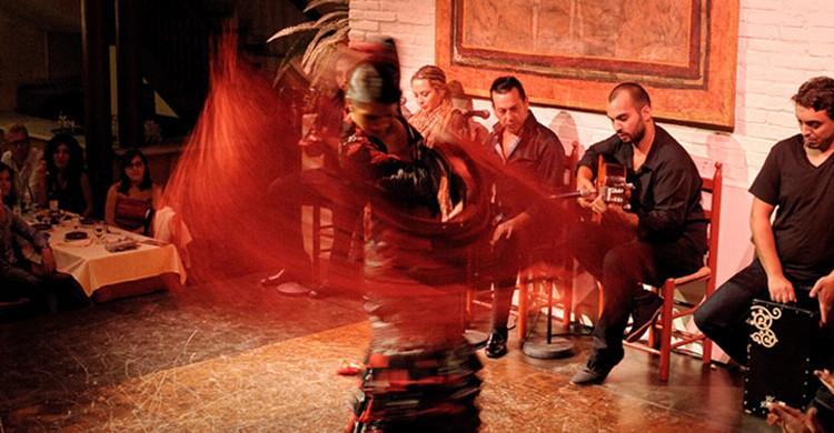 Espectáculo en El Tablao de Carmen
