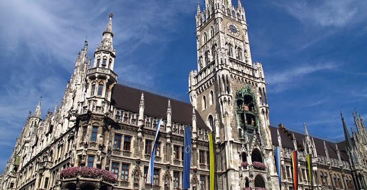 Nuevo Ayuntamiento de Múnich (iStock)