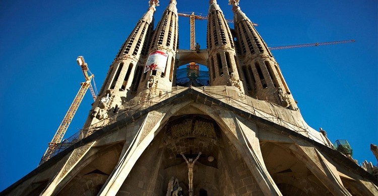 Sagrada Familia de Barcelona (Flickr)