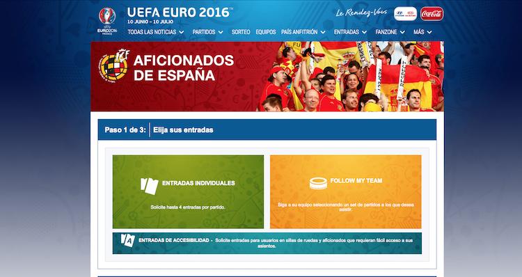 Comprar entradas Eurocopa (uefa.com)