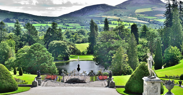 Powerscourt Estate, en Enniskerry (iStock)