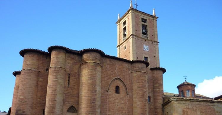 Monasterio de Santa María la Real, en Nájera. Joan Grifols (Flickr)