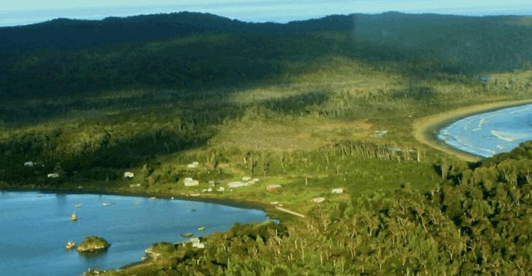 vistas aéreas del Parque Tantauco (parquetantauco.cl)