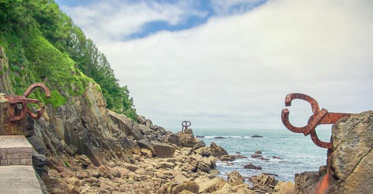 Peine de los Vientos de San Sebastián (Flickr)