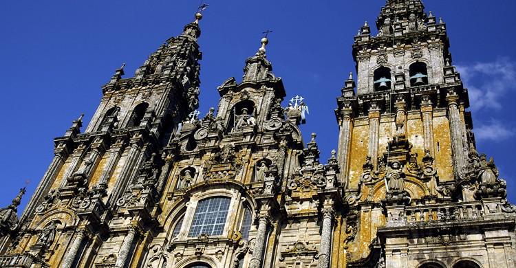 Fachada de la Catedral de Santiago (Flickr)