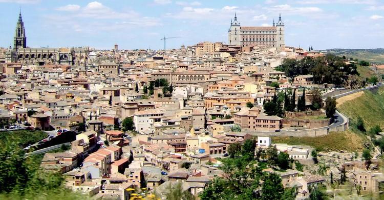 Panorámica de la ciudad de Toledo (Flickr)