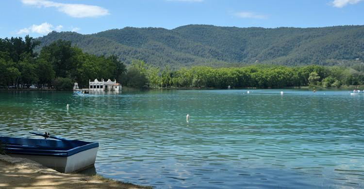 Aspecto del lago de Banyoles. Appie Verschoor (Flickr)