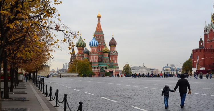 Plaza Roja de Moscú. chany crystal (Flickr)