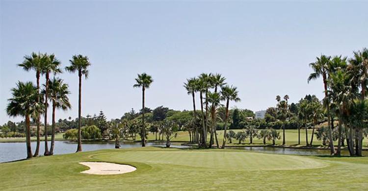 Imagen del Real Club de Golf de Sotogrande (http://www.golfsotogrande.com).
