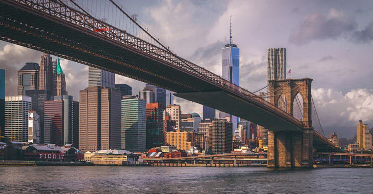 Nueva York desde el puente de Brooklyn. Andrés Nieto Porras (Flickr)