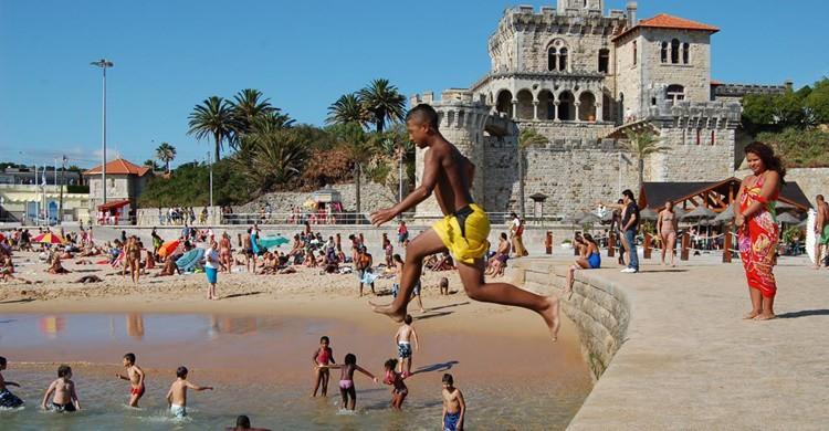 Playa de Estoril. Yusuke Kawasaki (Flickr)