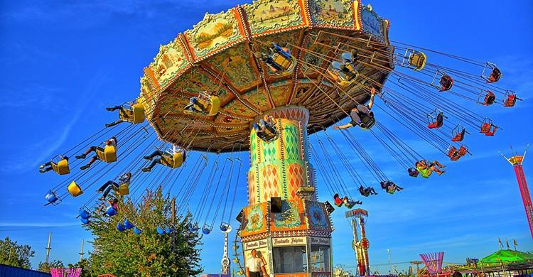 Parque de atracciones. Kirt Edblom (Flickr)
