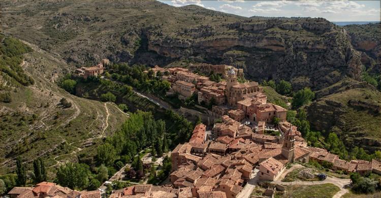 Pueblo de Albarracín y sus alrededores. Toni Rodrigo (Flickr)