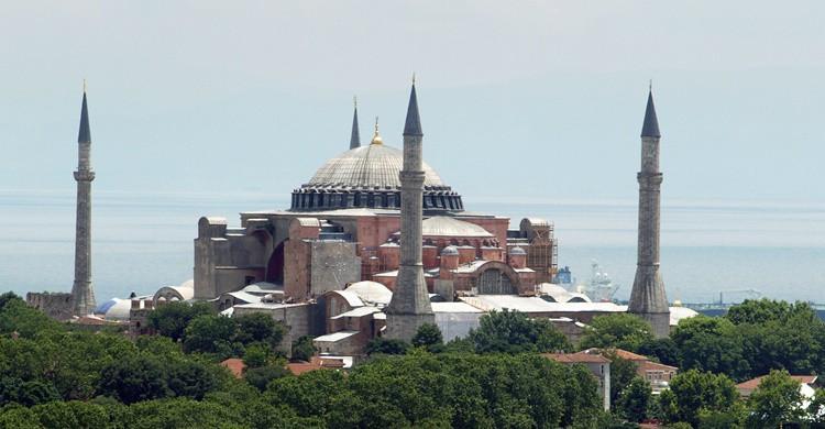 Catedral de Santa Sofía de Estambul. Julio Roman Fariñas (Flickr)