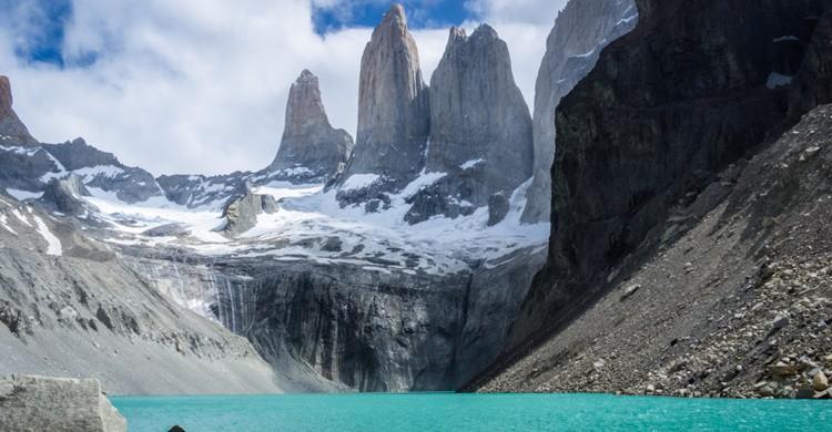 Las llamadas Torres del Pine, en la Patagonia chilena. Douglas Scortegagna (Flickr)