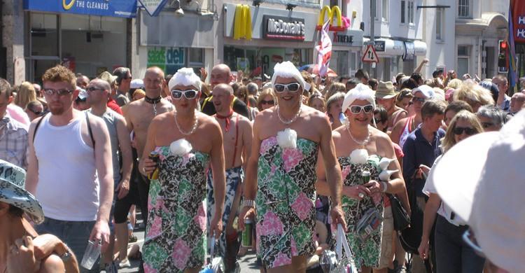 Fiestas del orgullo gay en Brighton. David Jones (Flickr)