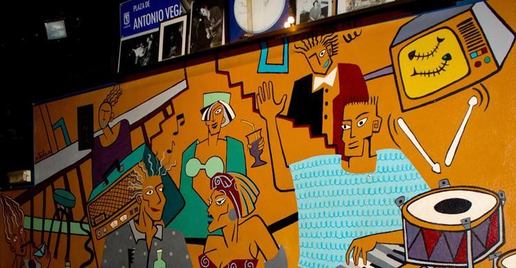 Mural. El Penta, Juanma Alonso, Facebook