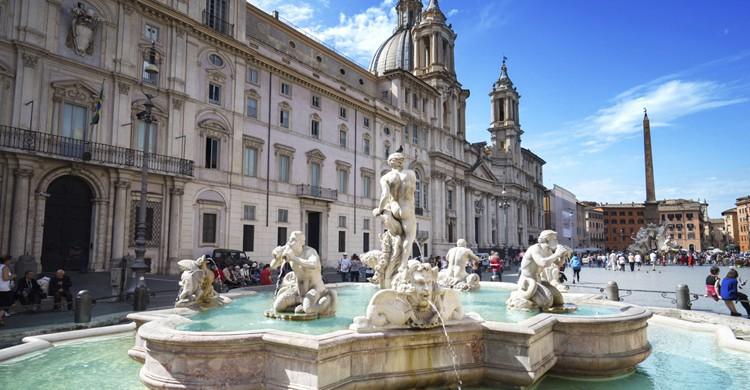 Roma fuente (Istock)
