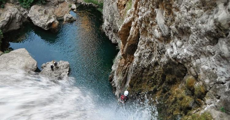 Barranquismo en la Serranía de Ronda. Aventura Ronda, Canyoning Spain