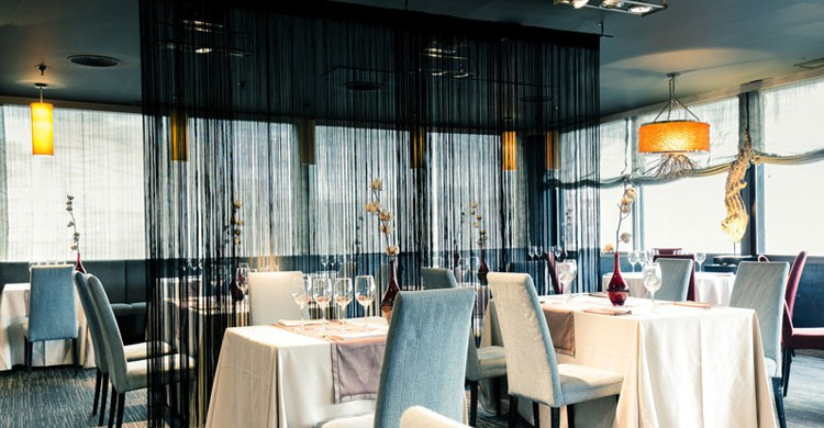 La elegante sala. SILK Social Space