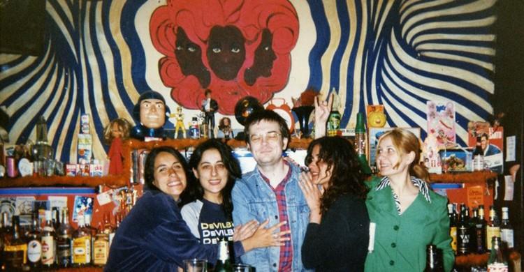 Foto histórica con Mauro Entrialgo. TupperWare Club, Facebook