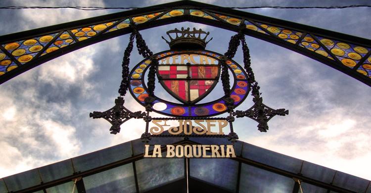 Mercado de la Boquería. Juan Salmoral (Flickr)
