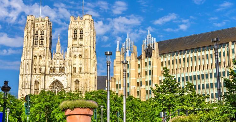 Catedral de Bruselas (iStock)