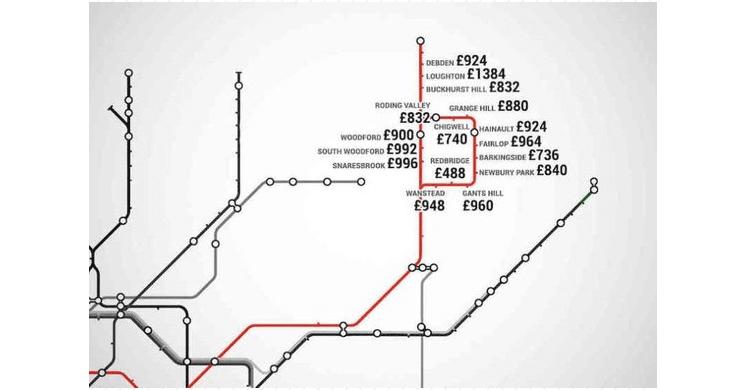 metro Londres/ Central Line ( www.shortlist.com)